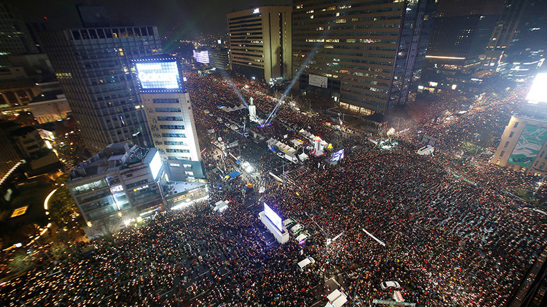 Over 1mn march in Seoul to demand President Park's resignation (PHOTOS, VIDEOS)