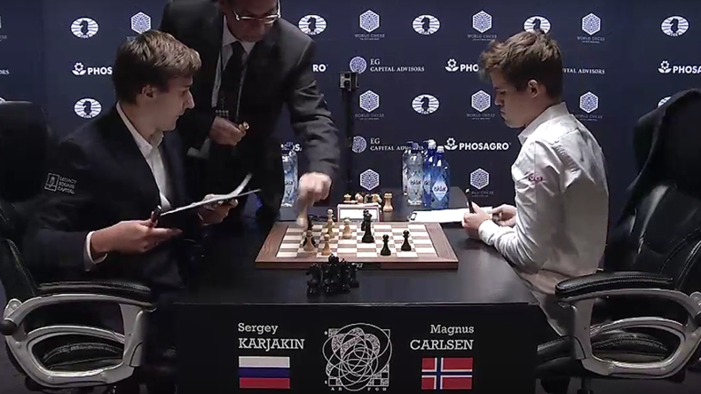 Karjakin-Carlsen game 11 ends in draw in tight World Chess Championship battle