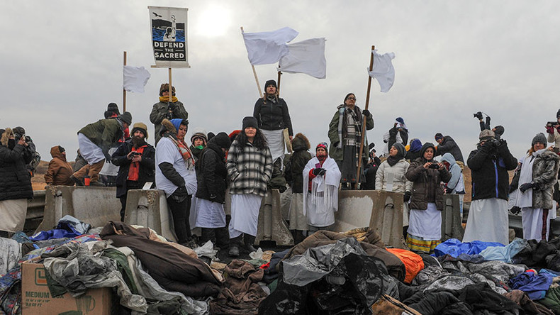 Army Corps won't 'forcibly remove' DAPL protesters, arrests still possible