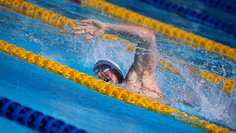 Special Olympics swimmer disqualified for being too fast
