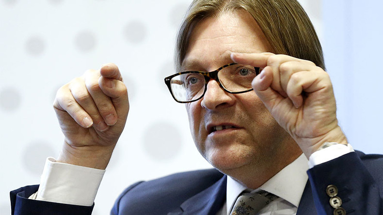 Rebuild EU into 'empire of good' in face of Trump presidency – MEP Verhofstadt