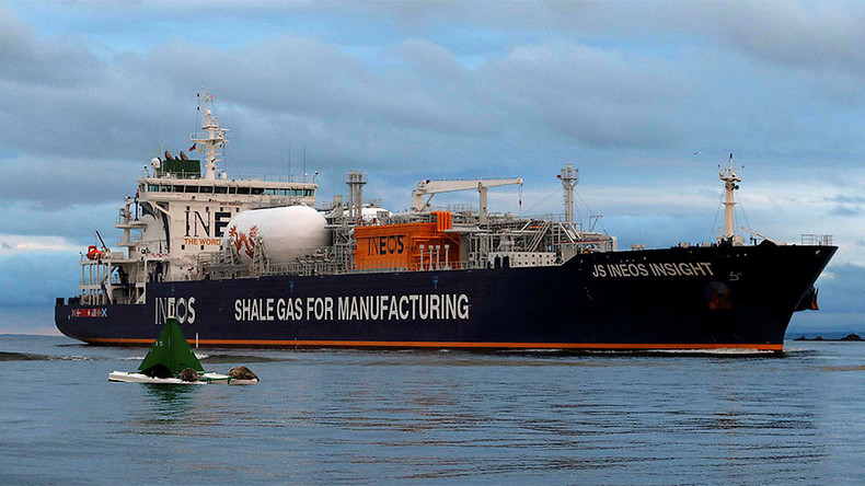 US net exporter of natural gas for first time in 60 yrs