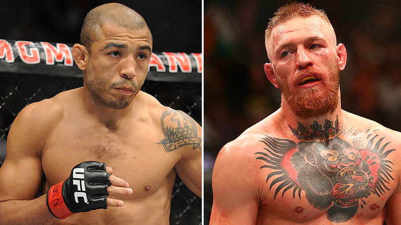 Aldo vows to hunt down 'p*ssy' McGregor at lightweight