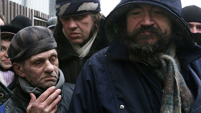 Moscow homeless to join fight against terrorism
