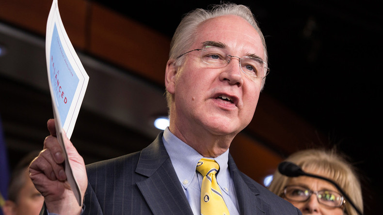 Trump taps Tom Price as secretary of Dept of Health and Human Services