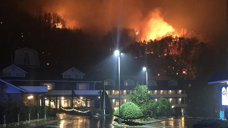 3 people confirmed killed in Gatlinburg, Tennessee fires
