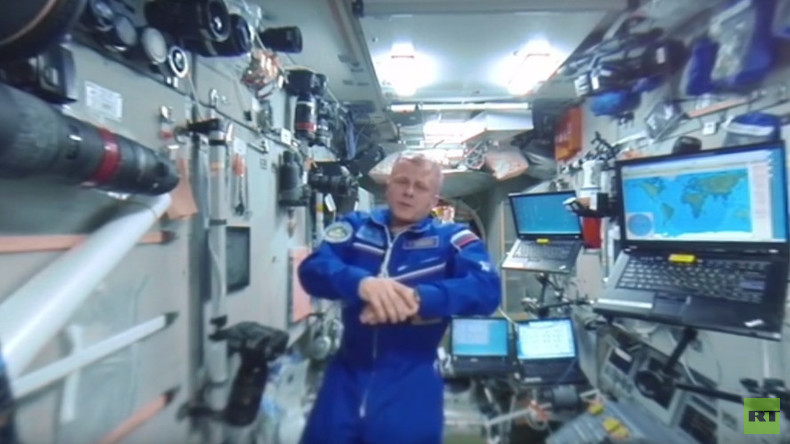 RT Space 360: Visit and compare Russian & US modules on the ISS