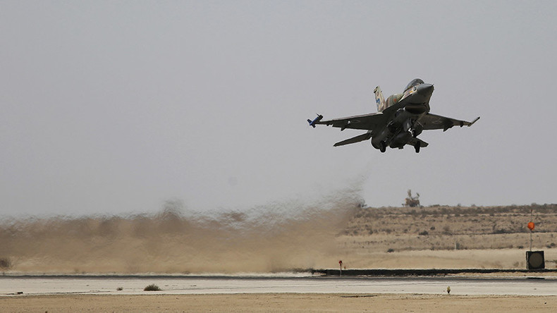 Israeli warplanes launch 2 rockets across Syrian border that strike near Damascus