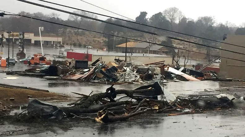 'Disaster zone': Tornadoes kill at least 5 in southeast states (PHOTOS)