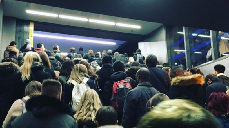 Up to 4 London Underground stations evacuated due to 'overcrowding'