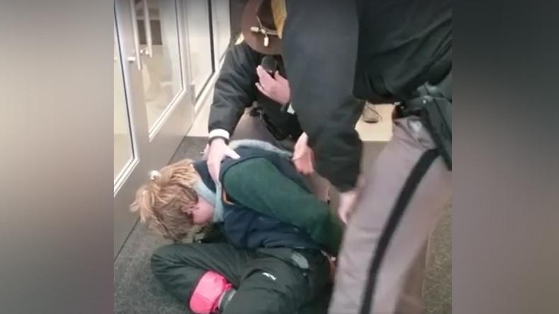 NoDAPL demonstrators arrested at Iowa Utilities Board