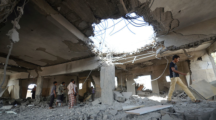 US calls for 'end to Saudi-led airstrikes' in Yemen, but keeps selling arms to Riyadh