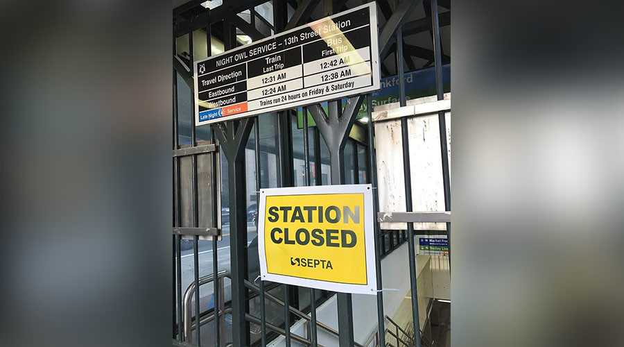 Transit strike leaves Philadelphia stranded week before elections