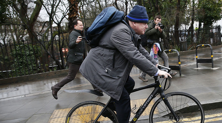 Boris Johnson banned from cycling to work because terrorists might target him