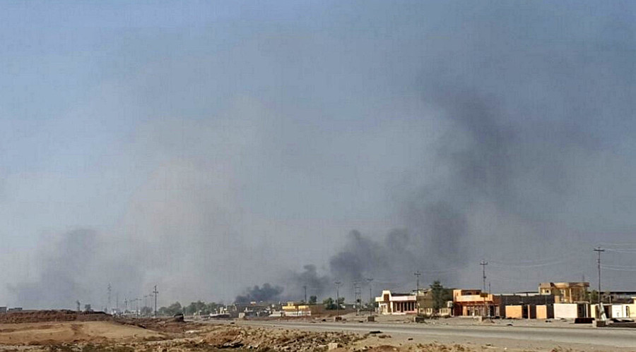 US jets strike residential areas in Mosul - Russian military