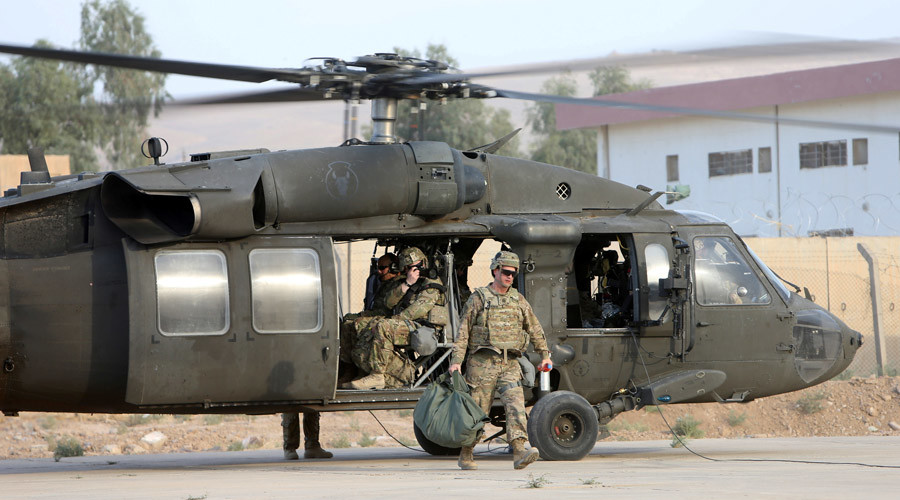 1,700 US Army troops deploying to Iraq to 'advise & assist' local forces