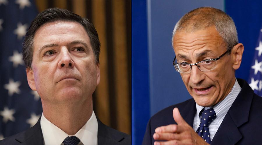'Leakers should shut up': Podesta slams FBI probe into Hillary's emails