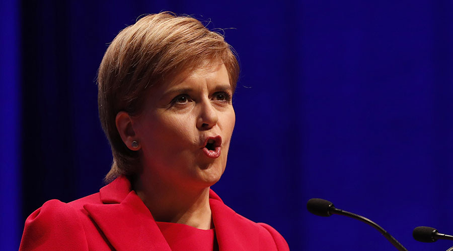 Facebook backlash as Scottish First Minister Sturgeon backs Clinton
