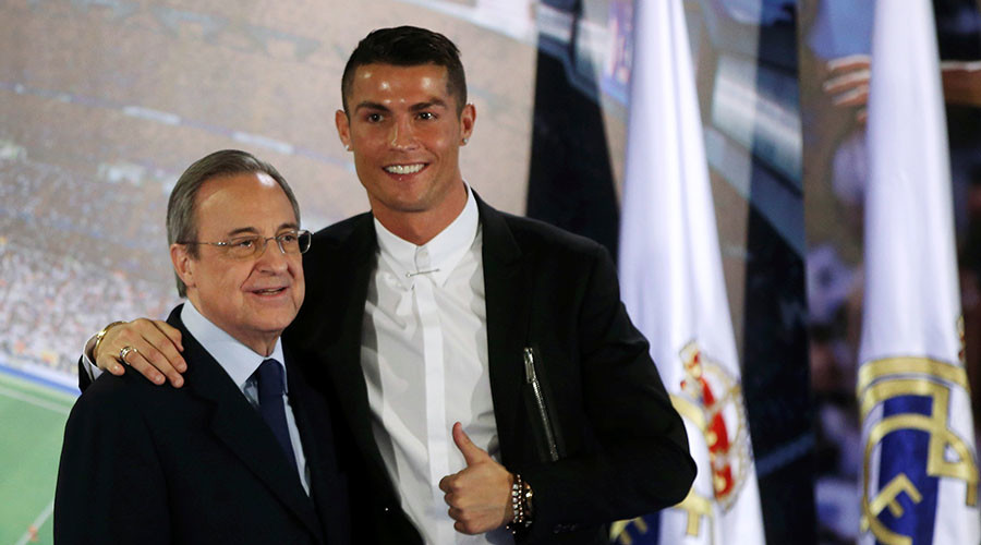 Cristiano Ronaldo pens record mega deal to stay at Real Madrid until 2021
