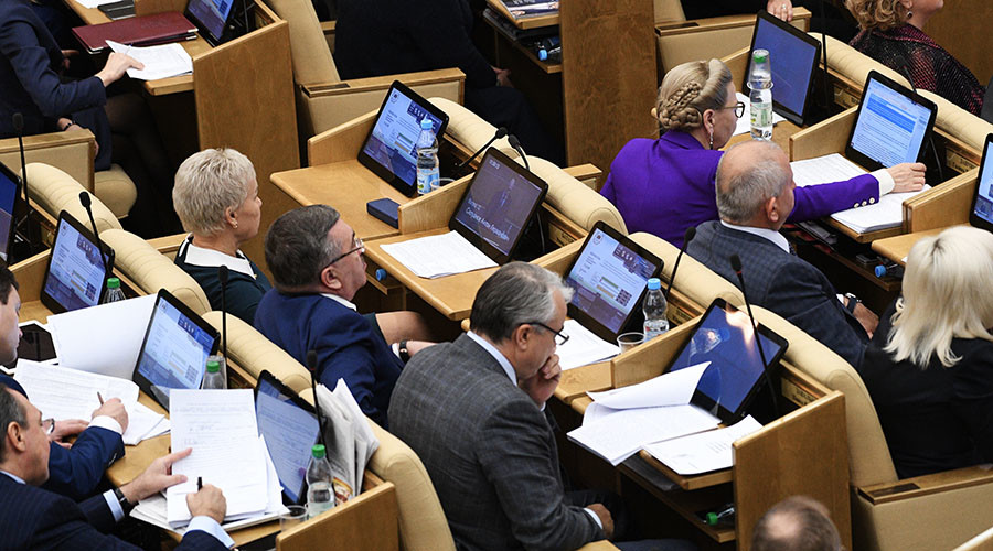 Duma obliges Russian MPs to reply personally to citizens' addresses