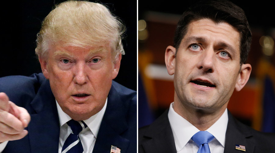 Political feat: Can Speaker Ryan and GOP work with Trump?