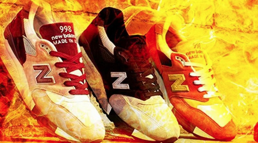 Burning soles: New Balance Trump comments set social media alight