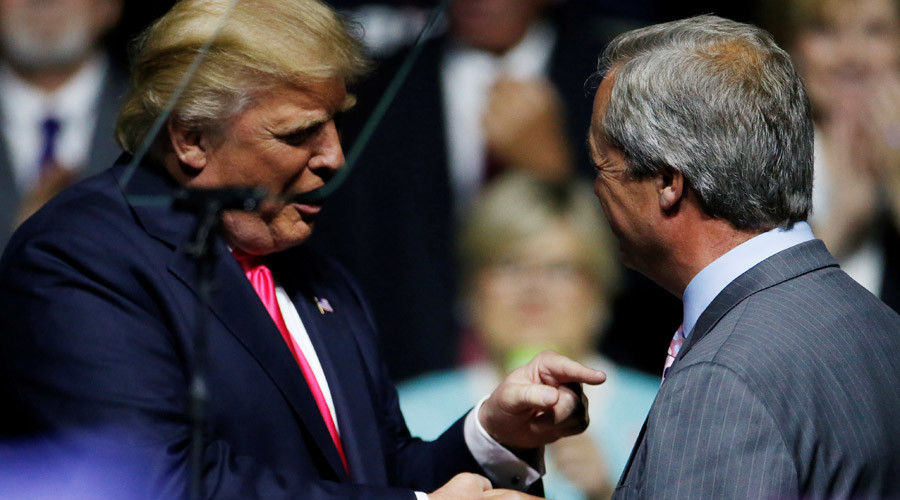 'Relaxed & full of good ideas': Farage first UK politician to meet US President-elect Trump