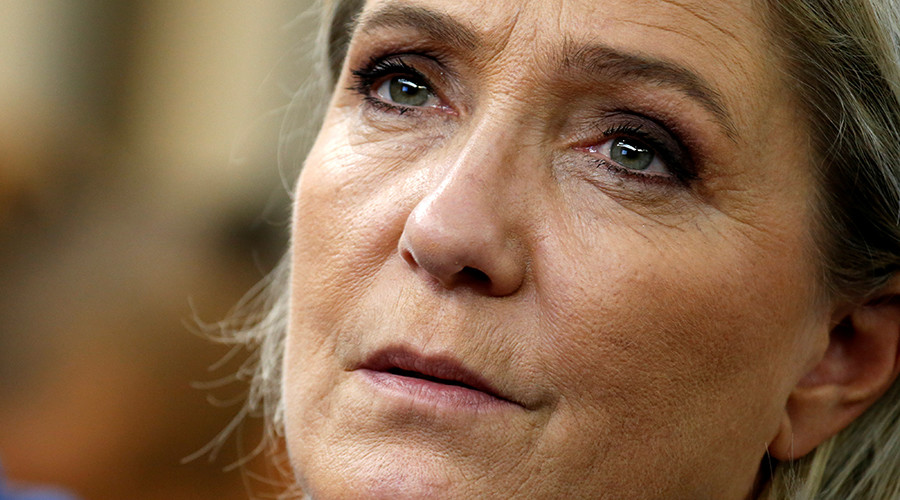 Le Pen says Trump victory boosts her chances for presidency, likens NF to UKIP