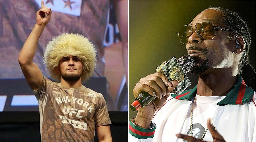 Snoop Dogg backs Russian UFC fighter Khabib Nurmagomedov to beat Conor McGregor