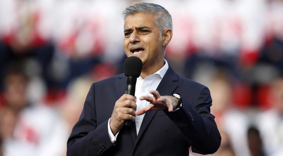 London Mayor Sadiq Khan takes swipe at Donald Trump, vows to 'build bridges, not walls'