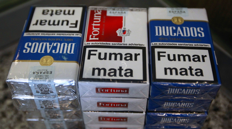 Unsuspecting patient furious after hospital photo used as cigarette pack warning