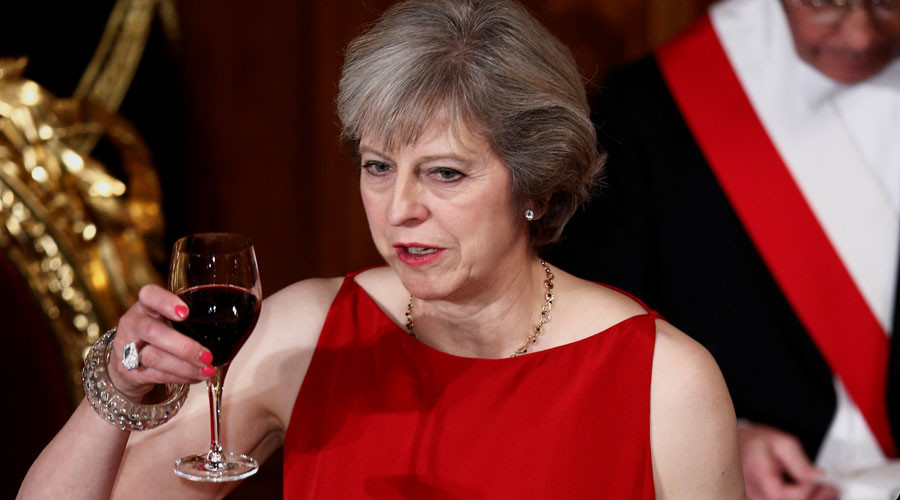 Yes, yes, yes, Prime Minister! More innuendo from May sexes up PMQs