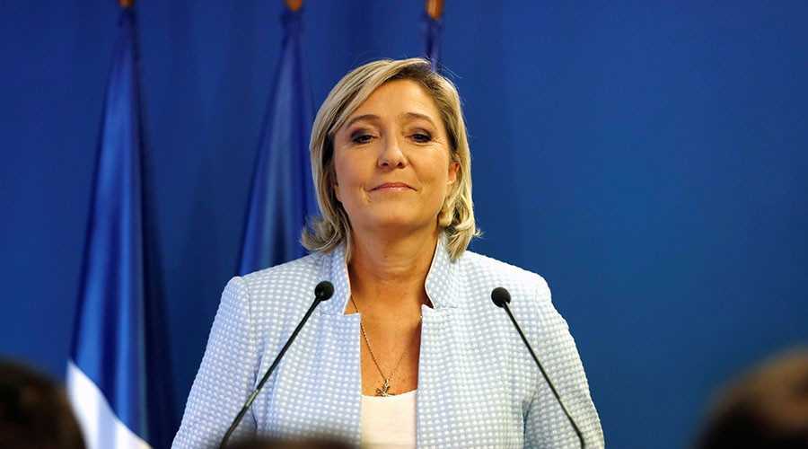 Le Pen says her joining forces with Putin & Trump as France's leader would be 'good for world peace'