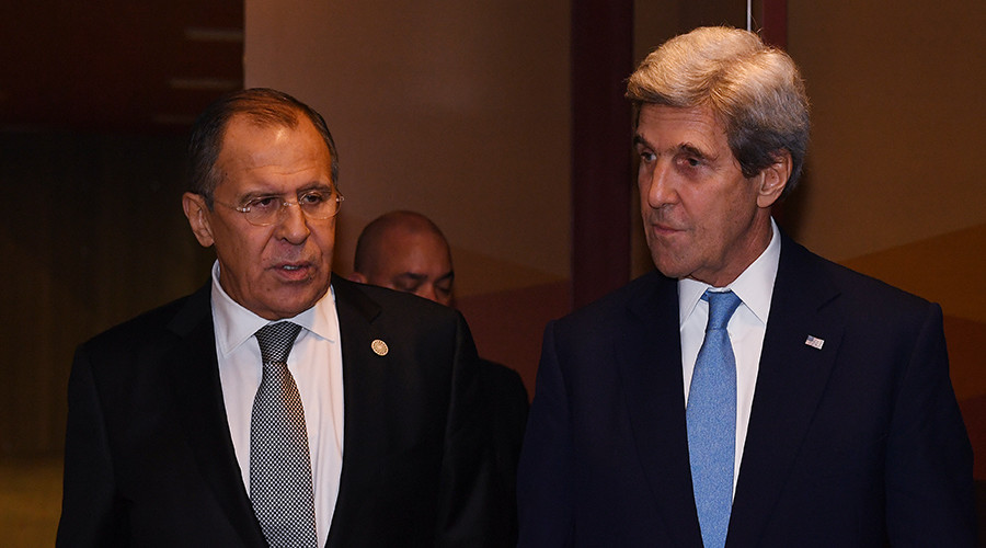 Lavrov: Russian jets striking Idlib & Homs to prevent ISIS exodus from Mosul to Syria