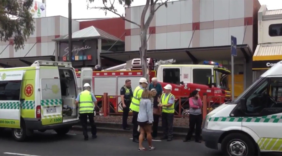 At least 27 injured after man sets fire to Melbourne bank