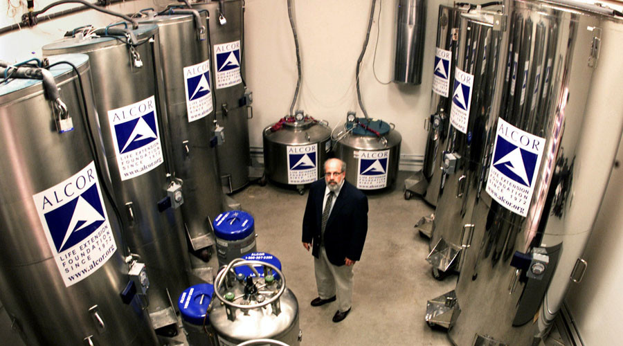 'Stored in giant thermos bottles': How a 'cryonics club' freezes people for the future (AUDIO)