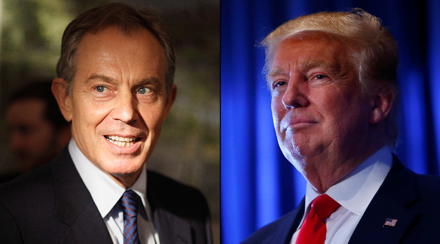 Tony Blair dismisses claims he wants job as Trump adviser