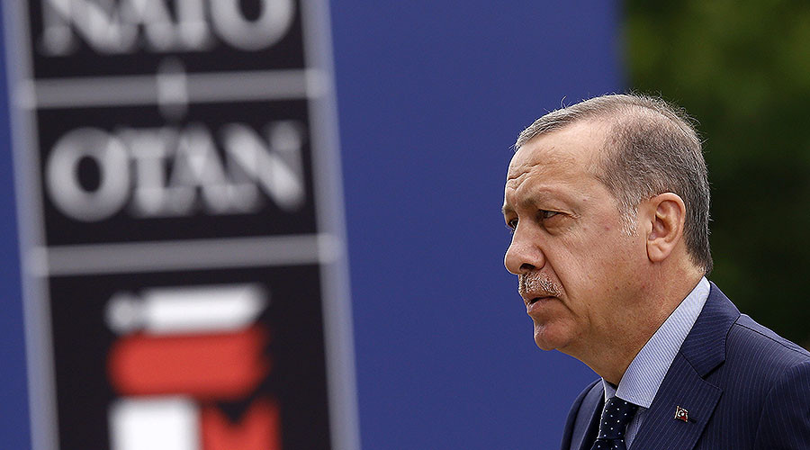 Erdogan warns NATO against asylum to 'terrorist soldiers' after Turkish officers file requests