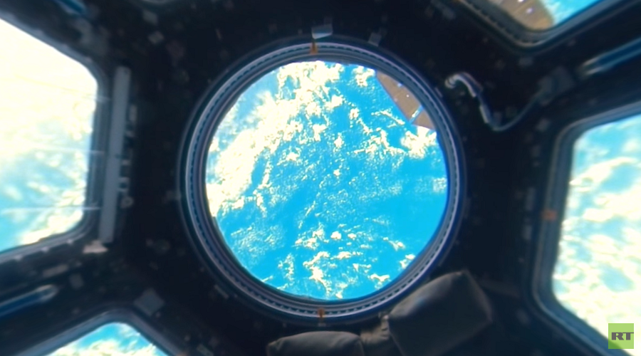 Space 360: RT reveals first-ever 4K panoramic view of Earth from aboard ISS