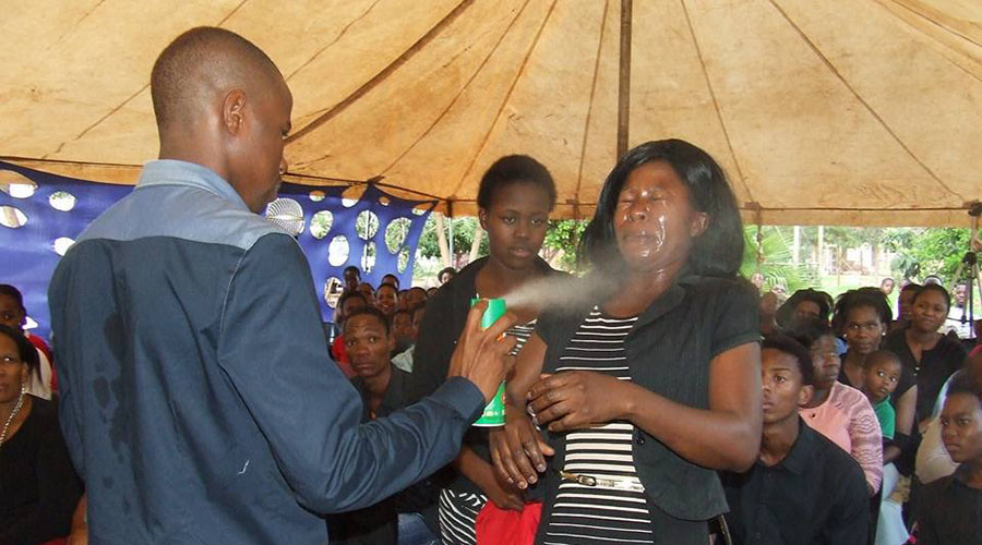 South African pastor condemned for 'healing' HIV and cancer with insecticide
