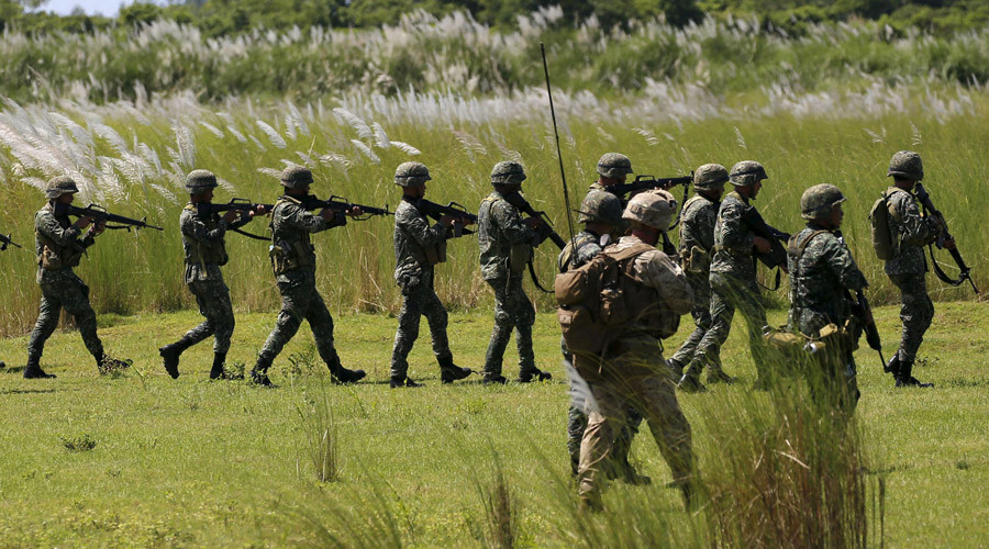 Philippines, US 'agree to reduce' military drills, number of US troops taking part