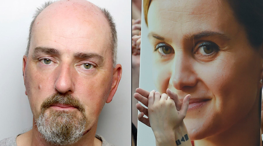 Far-right 'terrorist' Thomas Mair jailed for life for murder of Labour MP Jo Cox
