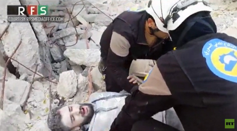 White Helmets 'deserve an Oscar' for mannequin challenge performance in Syria war zone