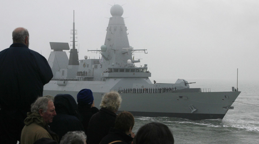 Royal Navy's hi-tech destroyer breaks down in NATO wargame, towed back to port