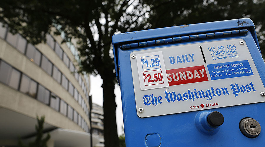 'Journalistic garbage': Greenwald & others slam WaPo for 'insane' Russian propaganda story