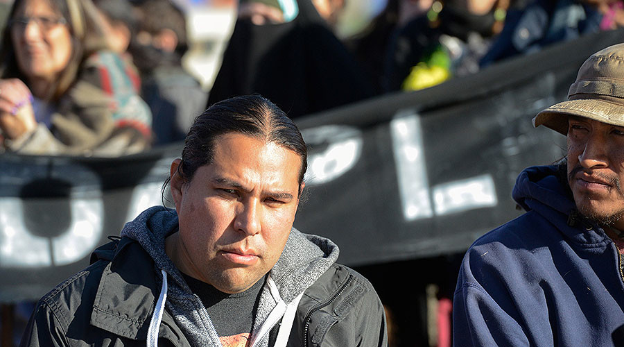 'We stand strong': Standing Rock water protectors defy Army Corps' threat of camp eviction (VIDEO)