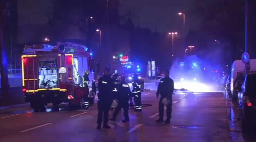 OSCE summit venue in Hamburg set on fire in likely politically-motivated attack (VIDEO)
