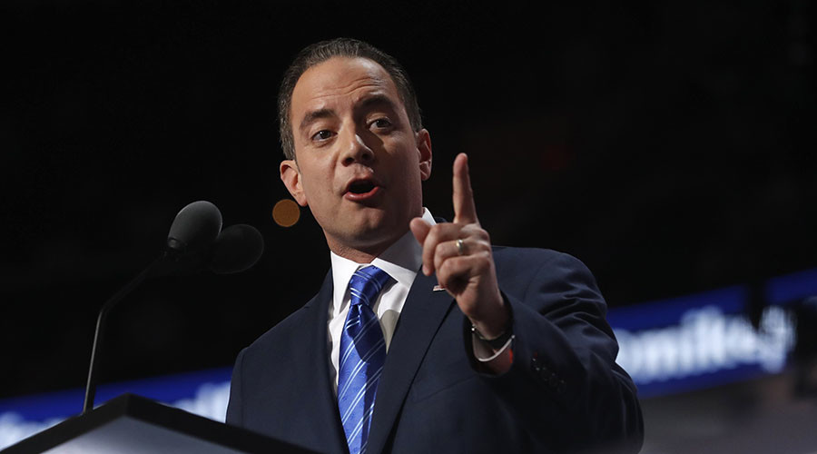 'Hypocritical joke': Trump's chief-of-staff slams Clinton camp for taking part in recount