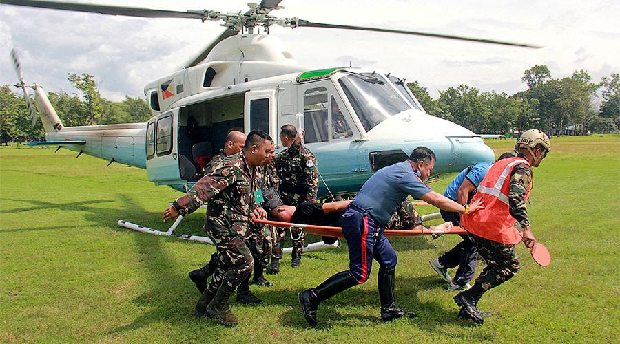 Philippines President Duterte's advance security team bombed in volatile region