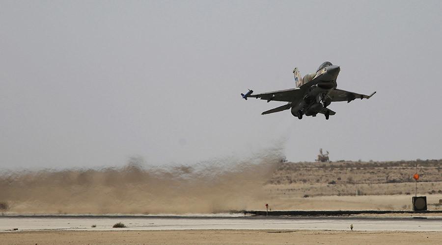 Israeli warplanes launch 2 rockets across Syrian border that strike near Damascus
